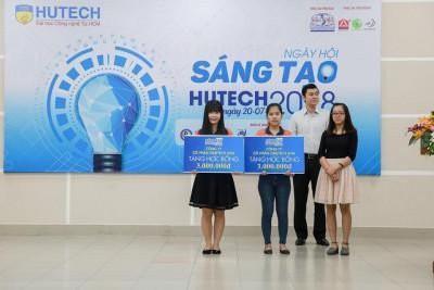 OneTech Asia trao học bổng trong Ngày hội sáng tạo HUTECH 2018