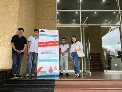 Kỳ thi JBAA 4kyu đầu tiên tại Việt Nam