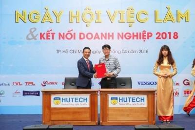 OneTech Asia ký thỏa thuận hợp tác với HUTECH