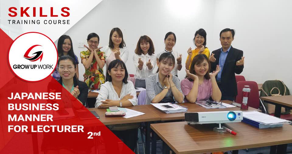 Khóa học Năng lực ứng xử trong doanh nghiệp Nhật cho giáo viên - Khóa 2
