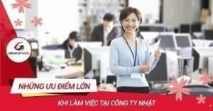 Những ưu điểm lớn khi làm việc tại công ty Nhật Bản