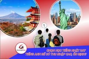 Chọn học tiếng Nhật hay tiếng Anh để có thu nhập cao, ổn định?