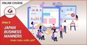 Khóa học Online FREE: Văn hóa ứng xử trong doanh nghiệp Nhật LẦN 2