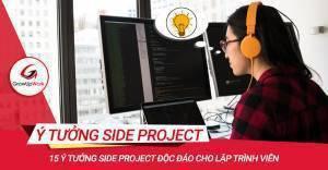 15 ý tưởng Side Project độc đáo cho lập trình viên