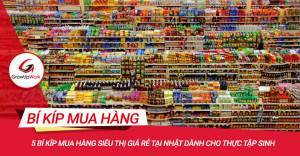 5 Bí kíp mua hàng siêu thị giá rẻ tại Nhật dành cho thực tập sinh