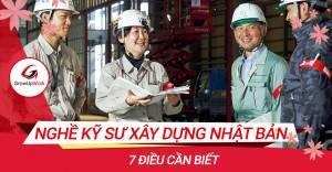 7 điều cần biết về nghề kỹ sư xây dựng Nhật Bản