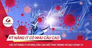 Các kỹ năng IT có nhu cầu cao đột phá trong và sau Covid 19
