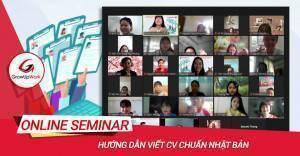 Online Seminar: HƯỚNG DẪN VIẾT CV CHUẨN NHẬT