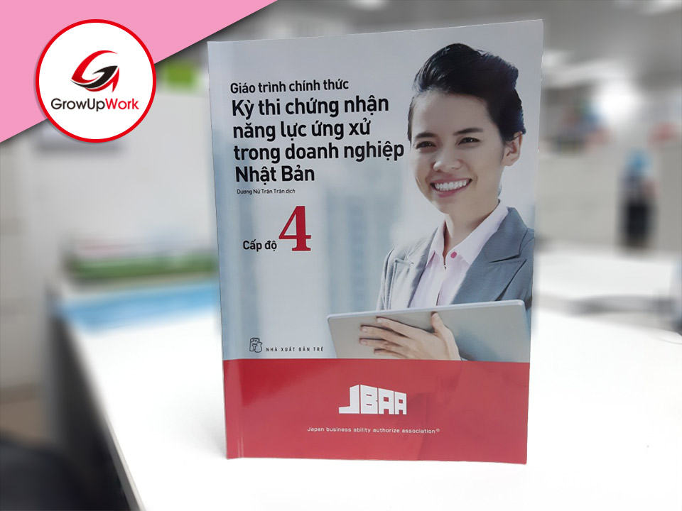 Japanese Business Manner books in Vietnamese version are published