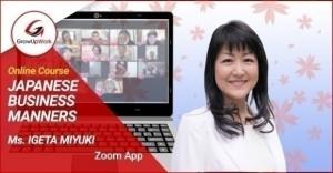 Chiêu sinh khóa học Online: JAPANESE BUSINESS MANNERS