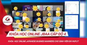 Khóa học Online Japanese Business Manners cấp độ 4 dành cho sinh viên ĐH HUFLIT