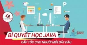 Bí quyết học Java cấp tốc cho người mới bắt đầu