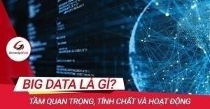 Big data là gì? Tầm quan trọng, tính chất và hoạt động