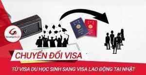 Chuyển đổi VISA DU HỌC SINH sang VISA LAO ĐỘNG tại Nhật