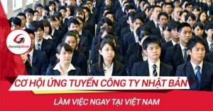 Cơ hội ứng tuyển công ty Nhật Bản làm việc ngay tại Việt Nam