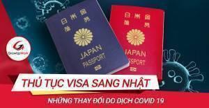 COVID-19 và thay đổi trong thủ tục Visa sang Nhật