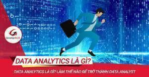 Data Analytics là gì? Làm thế nào để trở thành Data Analyst