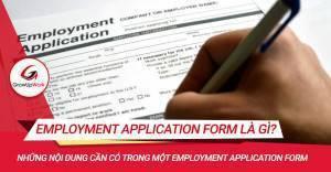 Employment Application form là gì?