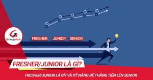 Fresher/Junior là gì? Làm sao để thăng tiến lên Senior