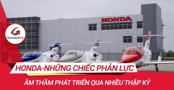 Honda - Những chiếc phản lực âm thầm phát triển qua nhiều thập kỷ