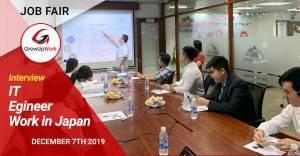 Phỏng vấn IT Japan Job Fair: Tháng 12 năm 2019