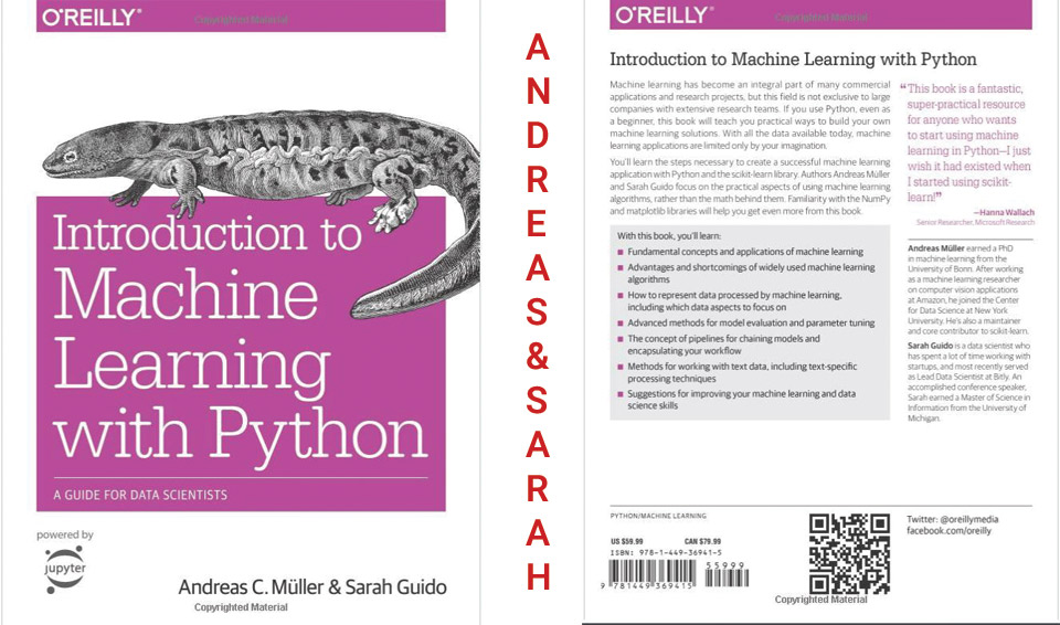 Sách Introduction to Machine Learning with Python: A Guide for Data Scientists​​​​​​​