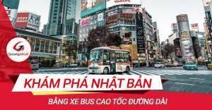 Khám phá nhật bản bằng xe bus cao tốc đường dài
