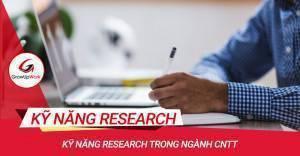 Kỹ năng Research trong ngành CNTT