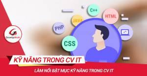 Làm nổi bật mục Kỹ năng trong CV IT
