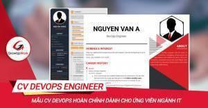 Mẫu CV DevOps hoàn chỉnh dành cho ứng viên ngành IT