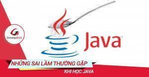 Những sai lầm thường gặp khi học Java