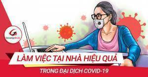 Phương pháp làm việc tại nhà hiệu quả trong đại dịch COVID-19