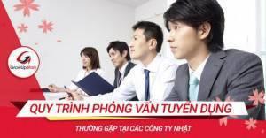Tất tần tật Quy trình phỏng vấn tuyển dụng chung tại các công ty Nhật