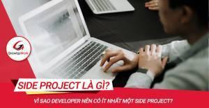 Vì sao Developer nên có ít nhất một Side Project?