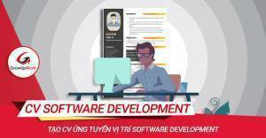 Tạo CV ứng tuyển vị trí Software Developer