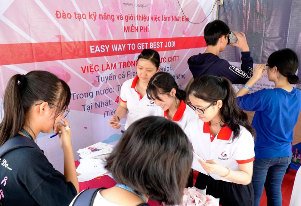 ホーチミン自然科学大学ベトナム人ITエンジニア現地面接会開催