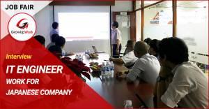 Phỏng vấn IT Japan Job Fair: Tháng 02 năm 2020