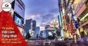 Thị trường việc làm tiếng Nhật N4, N3 tại HCM việc hot lương cao