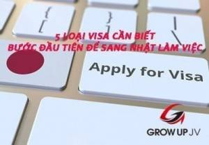 5 loại visa cần biết - Bước đầu tiên để sang Nhật