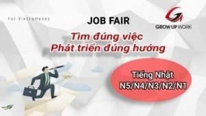 Ngày hội tuyển dụng nhân tài tiếng Nhật cao cấp