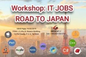 WORKSHOP: IT JOBS - ROAD TO JAPAN